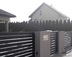Ogrodzenie klasyczne - zdjęcie od lakate.pl #nowoczesne#ogrodzenia#produkcja#wykonastwo#cała#Polska