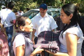 La Lic. Diony Loredo Suárez, Presidente Municipal de Arroyo Seco en compañía de su esposo el Ing. Isidro Landaverde vaca,...