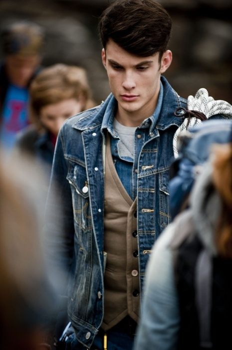 79 best Denim Jacket Layering images on Pinterest | Menswear ...