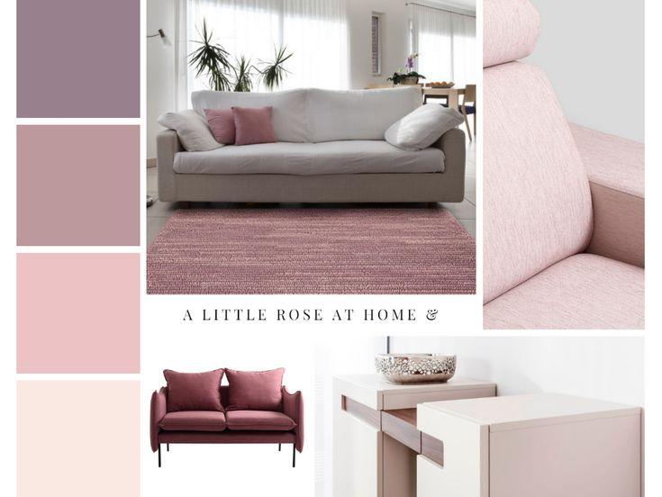 Różowa inspiracja aranżacyjna #różowemeble #twojemeble  #różowearanżacje #meble #pudrowyróż #kobiecaprzestrzeń #pink