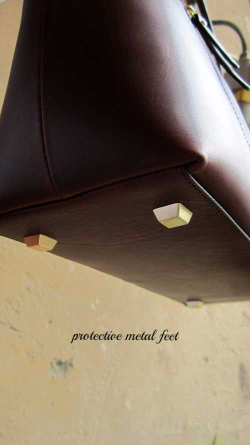 Bordeaux Anabelle, Chiaroscuro, India, Pure Leather, Handbag, Bag, Workshop Made, Leather, Bags, Handmade, Artisanal, Leather Work, Leather Workshop, Fashion, Women's Fashion, Women's Accessories, Accessories, Handcrafted, Made In India, Chiaroscuro Bags - 3