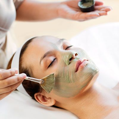 Schedule a Series of Facials If your skin is in good shape and doesn't require a doctor's care, Renée Rouleau, a Dallas aesthetician who has cared for Jessica Simpson's skin, recommends a facial every four to six weeks, starting six months before the wedding. Early on, experiment with different kinds—a brightening antioxidant facial one time, a rejuvenating light-emitting diode (LED) facial the next—to see what your skin responds to best.