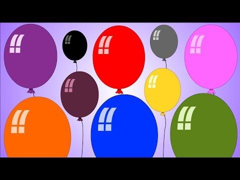 Color Songs, Learn Color Songs, Color Songs Collection for Children, Baby Toddlers - YouTube