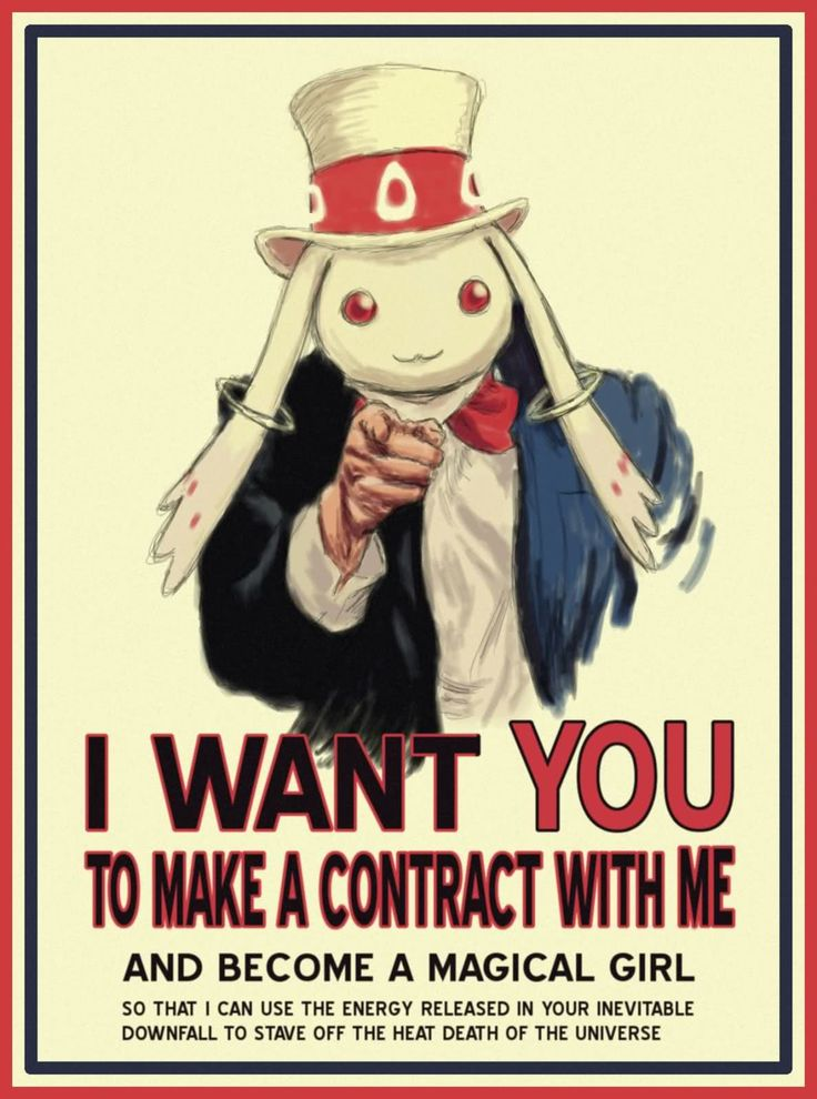 Uncle Kyubey wants you!