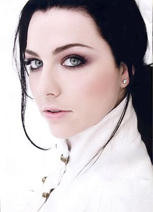 Love the hair and makeup in this photo of Amy Lee