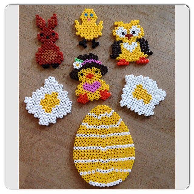 Easter hama beads by bonderosen