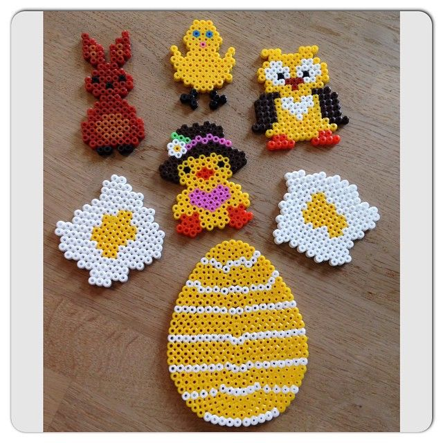 Easter hama beads by bonderosen