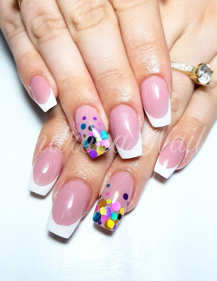 Confetti Nails