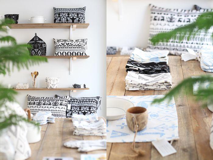 Saana ja Olli & Bedesign pop-up store 2013