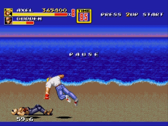 Streets of Rage is a game I grew up on.: Videos Games