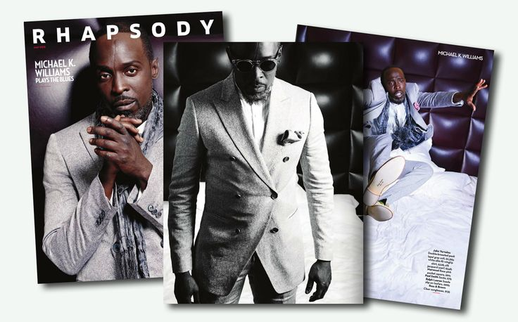 Rhapsody / may 2015 / with Michael K Williams