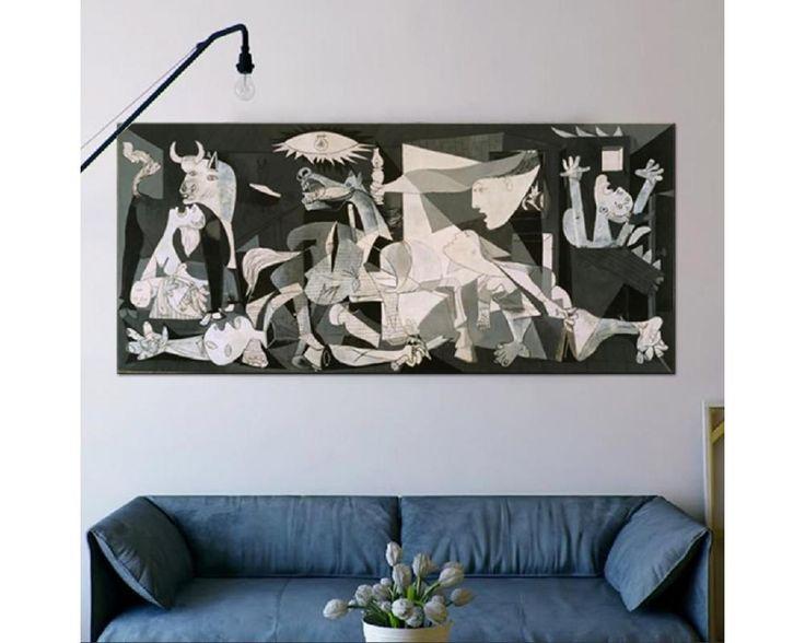 Guernica ,αναπαραγωγή σε καμβά