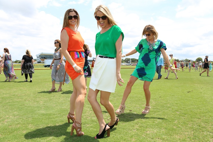 Stylishly stomping the divots