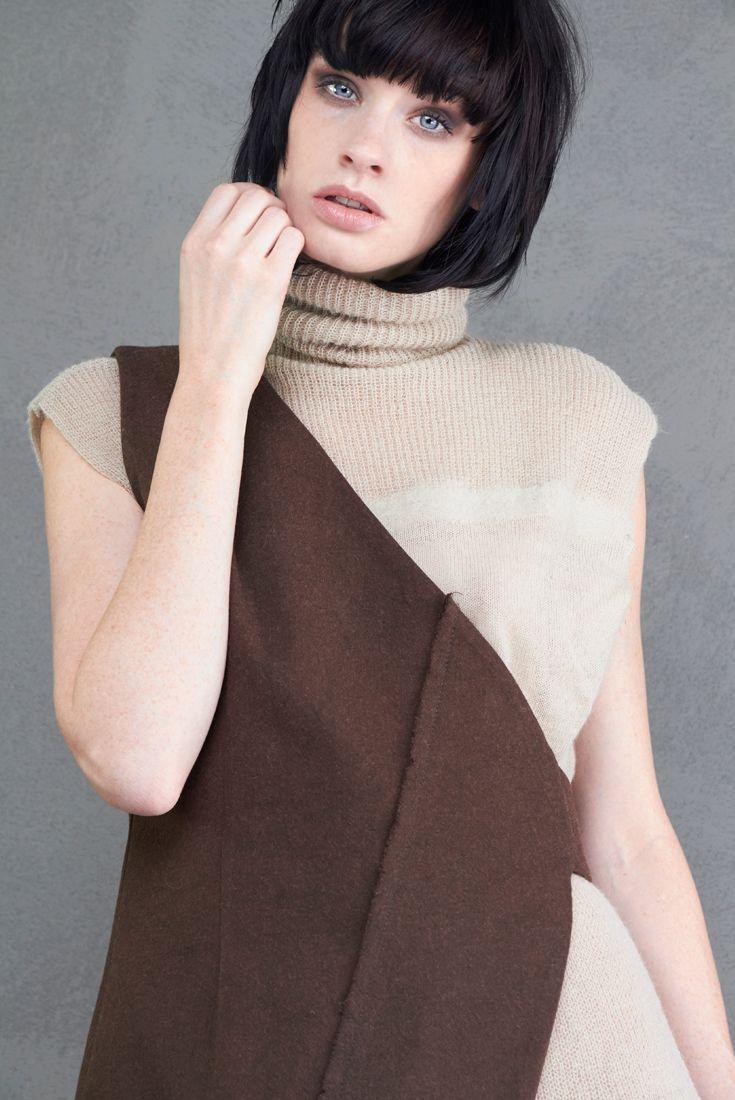 one shoulder waistcoat
