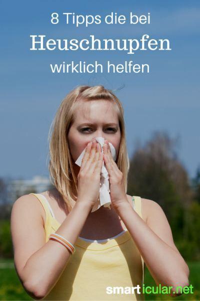 Bist du allergisch gegen Pollen? Hier sind wirksame Tricks, wie du deinen Heuschnupfen bekämpfst!: