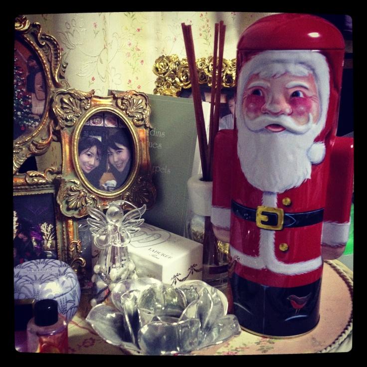 My Santa.