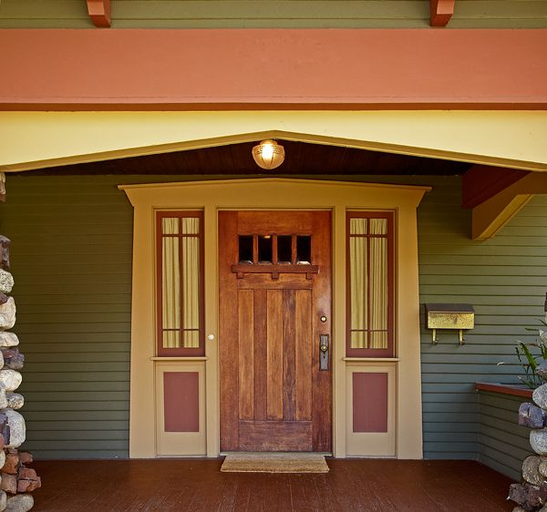95 best all things doors images on pinterest craftsman - Arts and crafts home interior design ...