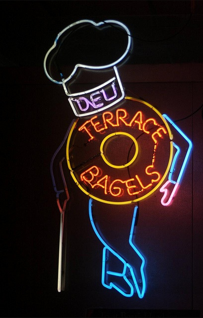 Terrace Bagels in Freehold, NJ. Always a line and rightly so!