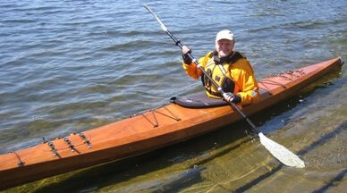 With a little handy work, David was able to make his Kayak fit for 2 Dogs.