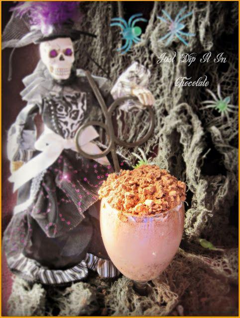 Just Dip It In Chocolate: Graveyard Mud Halloween Brownie Milkshake Recipe