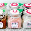 homemade body and foot scrubs (great gift idea!)