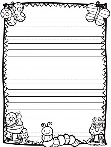 All the writing paper styles you need for holiday and seasonal writing through March, April, and May! 40 printable pages.