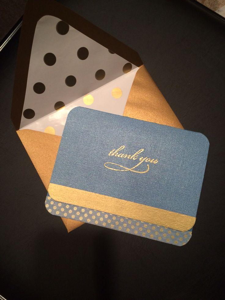 Simple but elegant using Washi tape!