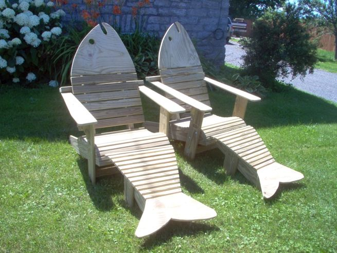 9 best Fish chairs images on Pinterest | Adirondack chairs, Beach ...