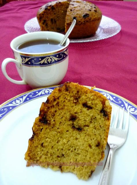 Citra's Home Diary: STEAMED BANANA CAKE....M e AnD B a N a n A