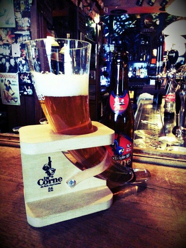 Bière Belge : La Corne du Bois des Pendus (Triple) - Brasserie d'Ébly.