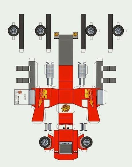Imprimibles de Cars gratis: Rayo, Mate y Max