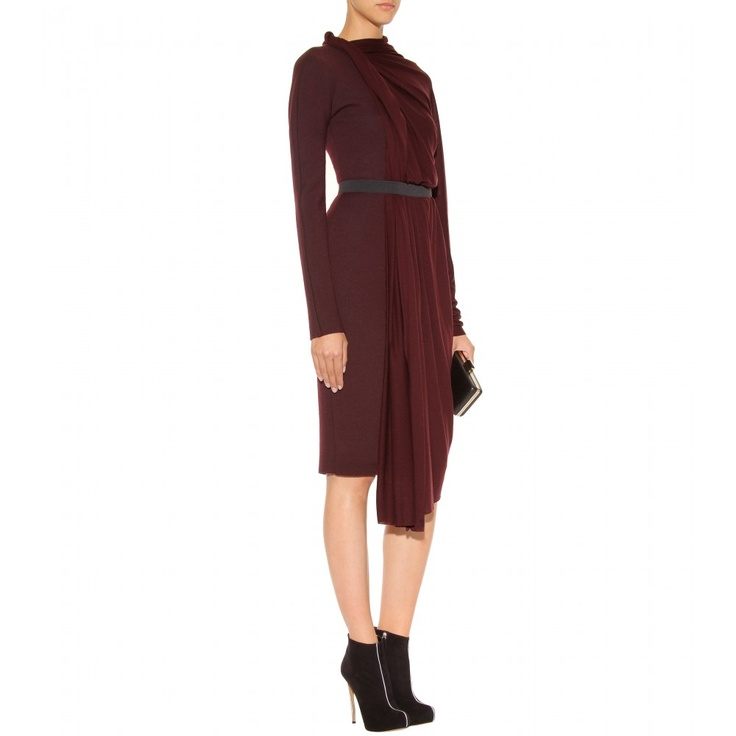 Lanvin Modern Draped Dress