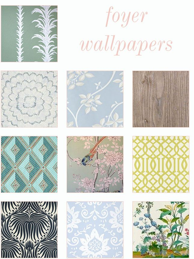 Top 10 Entryway Wallpapers (Good Bones Great Pieces)