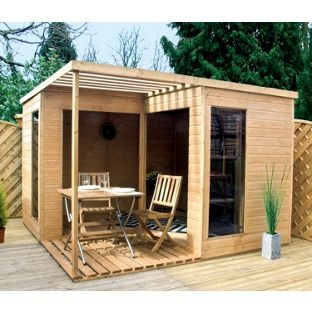 mercia open gardenroom 10x10 from homebasecouk - Garden Sheds Homebase