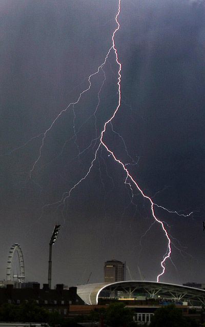 30 electrifying pictures of lightning and thunderstorms - Telegraph