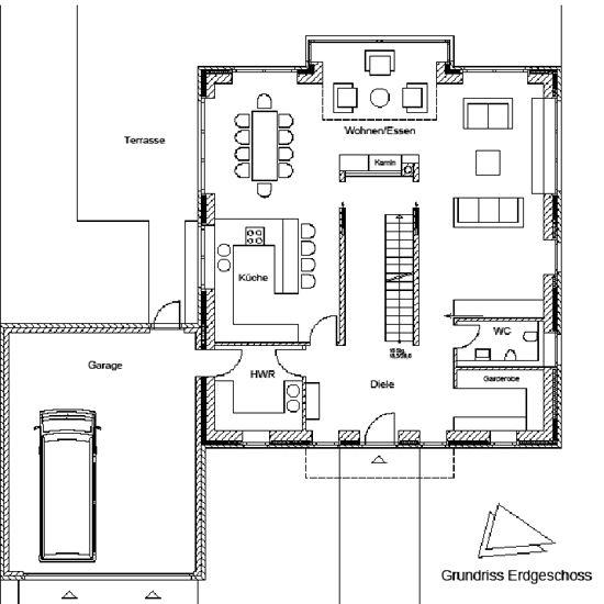 Einfamilienhaus an den Grachten in Schwerte  |  DAI Verband Deutscher Architekten- und Ingenieurvereine e.V., Berlin