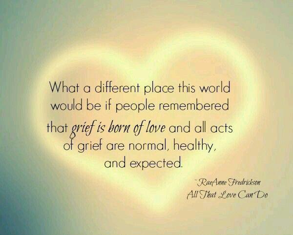 Healthy grief 3 essay