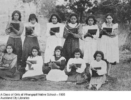 Photos on display in whakapau tangata.