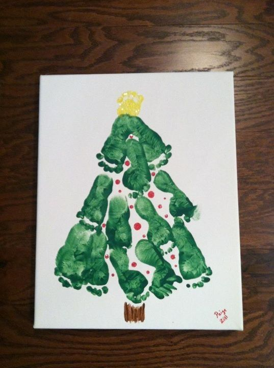 Babys First Christmas Or A Fun Craft To Do With Kids