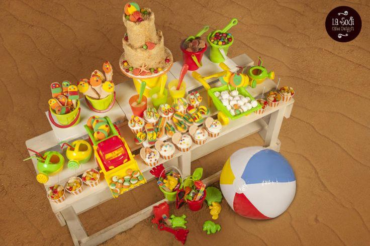 Beach party! - Cake by La Sodi Cake Design