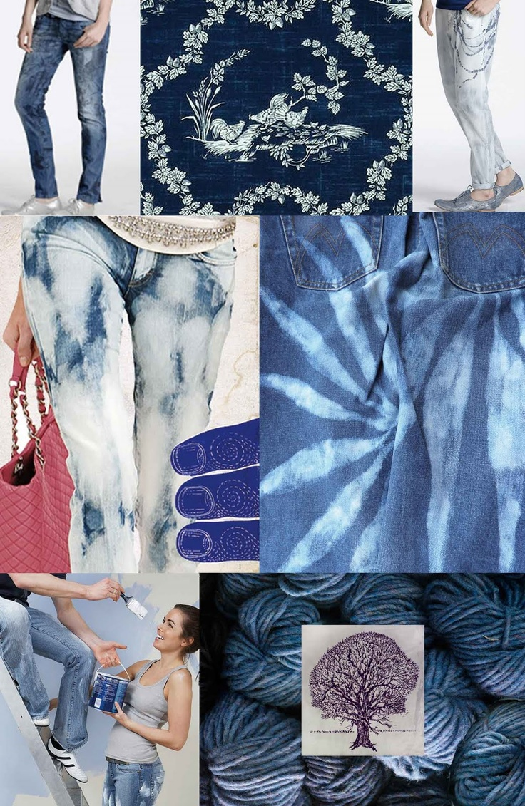 Denim Heaven Mood Board