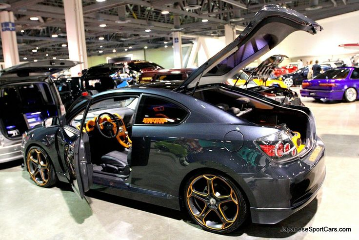 1st generation 2005-2010 Scion tC Tuner with Five Axis body kit