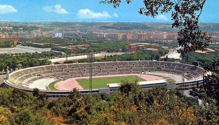 Stadio Olimpico circa 1960.