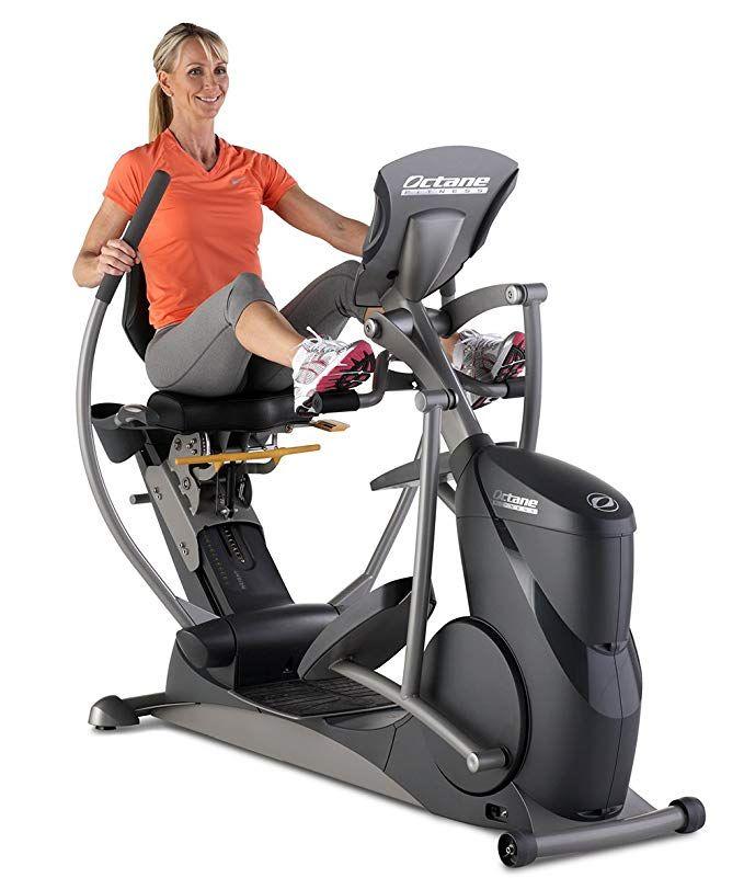 Octane Fitness Xr650 Recumbent Elliptical Best Exercise Bike Biking Workout Recumbent Bike Workout