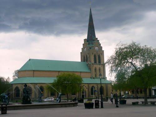St Nikolai kyrka i Halmstad.