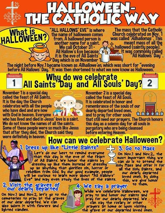 celebrate halloween in a holier way a list of saint inspired events for all saints day and all souls day - Where To Celebrate Halloween