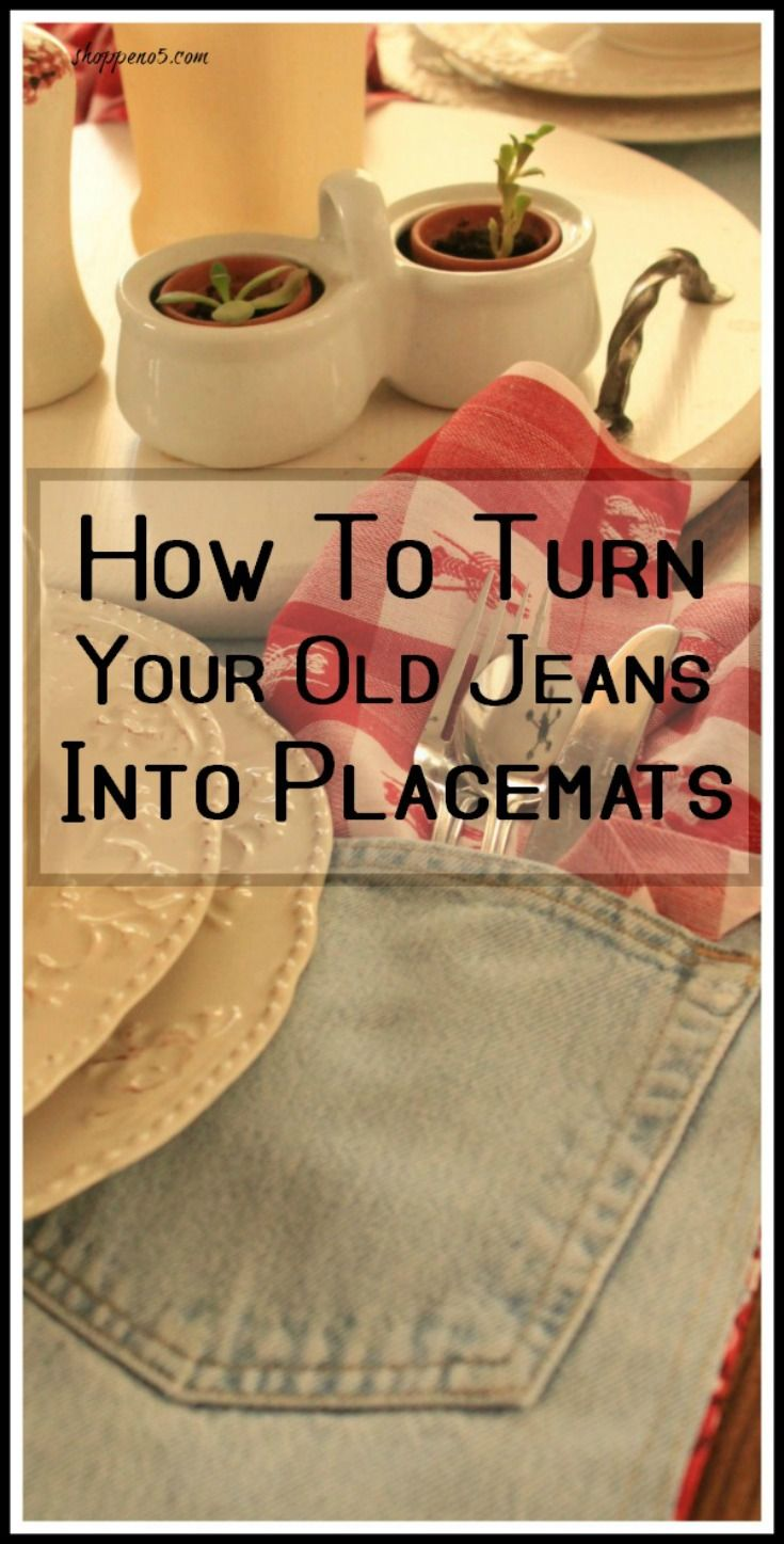 Do you have a beloved pair of jeans that you don't…