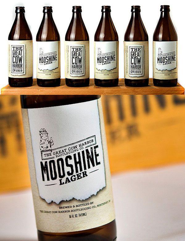 mooshineBeer Bottle