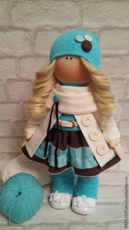 Куклы тыквоголовки ручной работы. Ярмарка Мастеров - ручная работа текстильная…