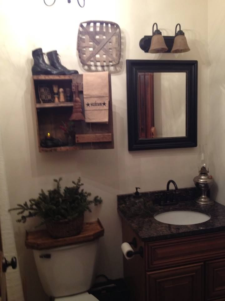 25 Best Ideas About Primitive Bathrooms On Pinterest
